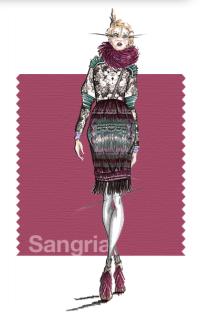 Tendencias de color Otono 2014 - Mujer TheGoldenStyle Sangria.jpg