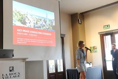 AICI Barcelona Congreso de Asesores de Imagen  2015 TheGoldenStyle copia