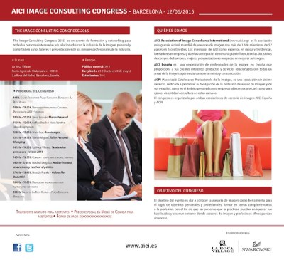 Image consulting folleto