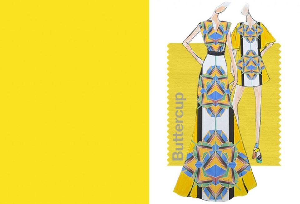 Tendencias color Primavera Verano 2016 Mujer TheGoldenstyle pantone-color buttercup