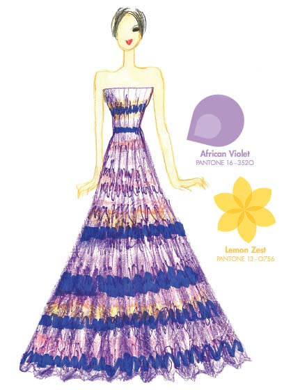Tendencias de color para la primavera 2013 African Violet TheColdenStyle