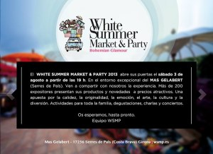 White Summer Market & Party fly TheGoldenStyle The Golden Style
