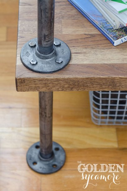 distressed-metal-and-wood-side-table