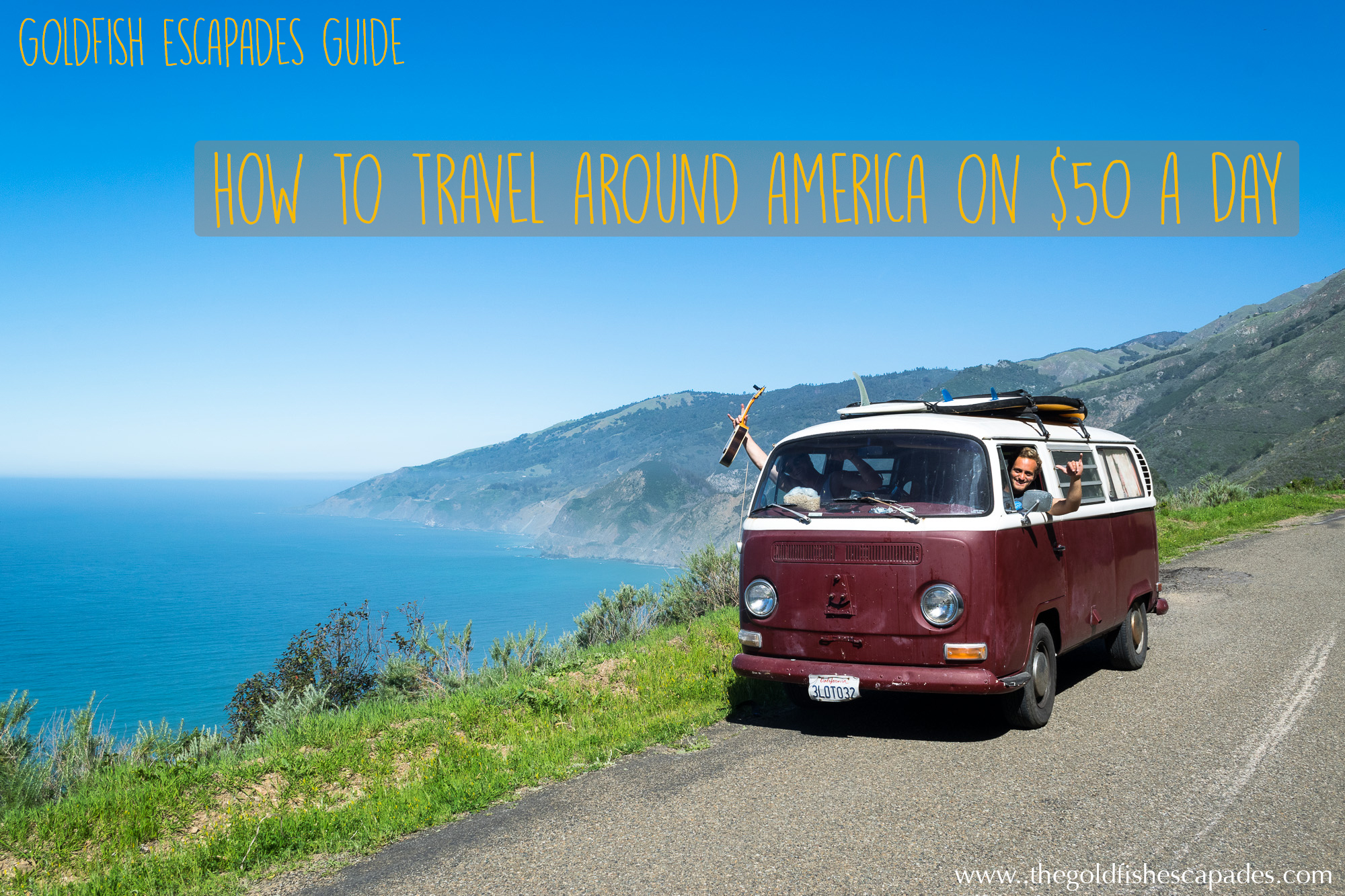 Road Trip Planner How To Travel Around The Us On 50 A Day