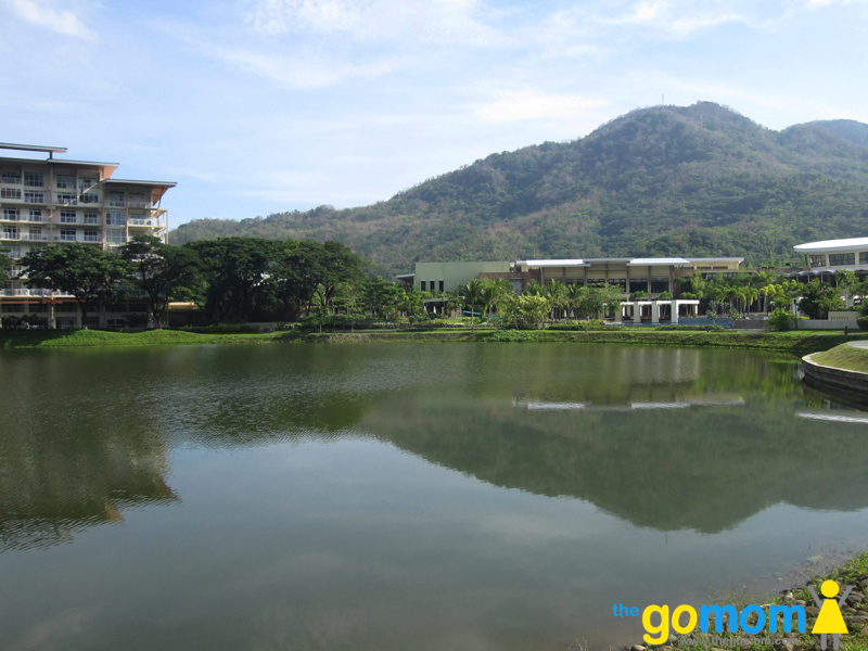 Man made lake at Pico de Loro Batangas