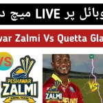PSL 4 – Peshawar Zalmi Vs Quetta Gladiators Live Match