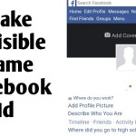 How To Make Invisible Name Fb Id – Stylish Name For Fb