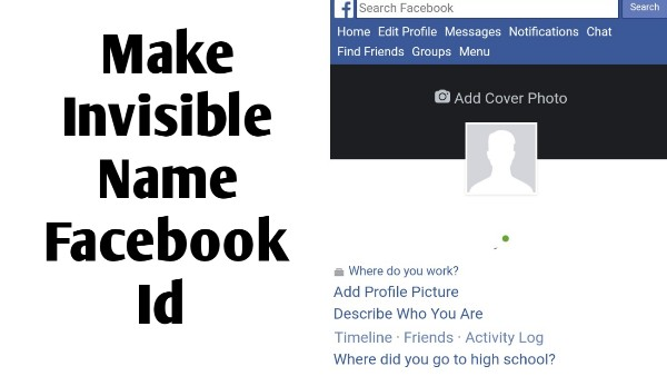 How To Make Invisible Name Fb Id - Stylish Name For Fb