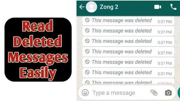 How To Read Deleted Messages On Whatsapp - THE GONDAL