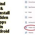 How to Find And Uninstall Hide Apps in Android – The Gondal