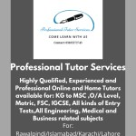 Best Home Tutor in Rawalpindi & Islamabad – The Gondal