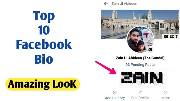 Make Facebook Bio of Your Name Stylish Bio For Fb The Gondal Apk