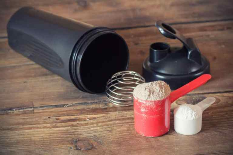 protein scoop and shaker