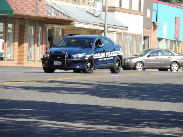 Photo of Pasco police cruiser on Flickr by Richard Bauer, licensed under CC BY 2.0