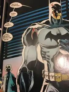 Batman Patched Up