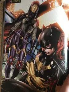 Batgirl Stabbed