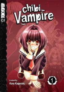 Chibi vampire cover