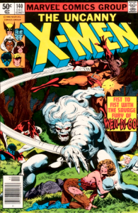 The windigo makes an appearance in this issue of a Marvel X-men comic.