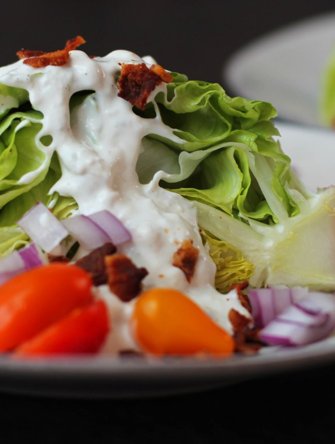 Old Fashioned Blue Cheese Wedge Salads