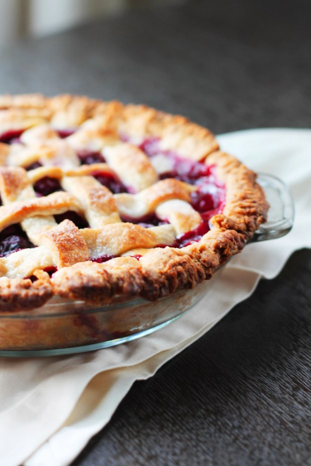 Recipe for Michigan Sour Cherry Pie. Worth the effort of pitting the cherries.. this is the best pie I have ever eaten!