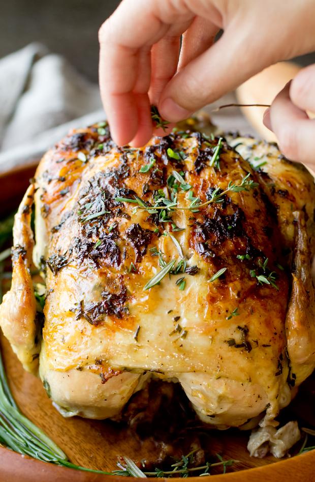 garlic herb butter sauce for chicken