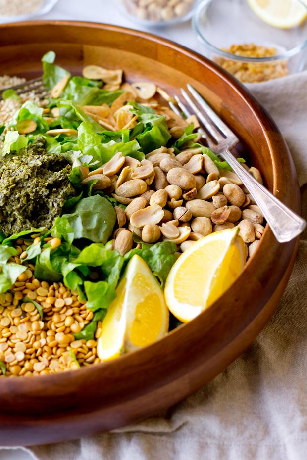 Burmese tea leaf salad the gourmet gourmand forumfinder Images