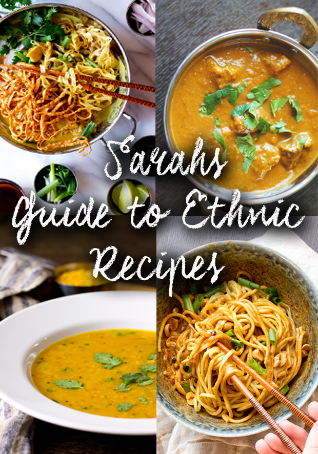 Sarah's Guide to Ethnic Recipes