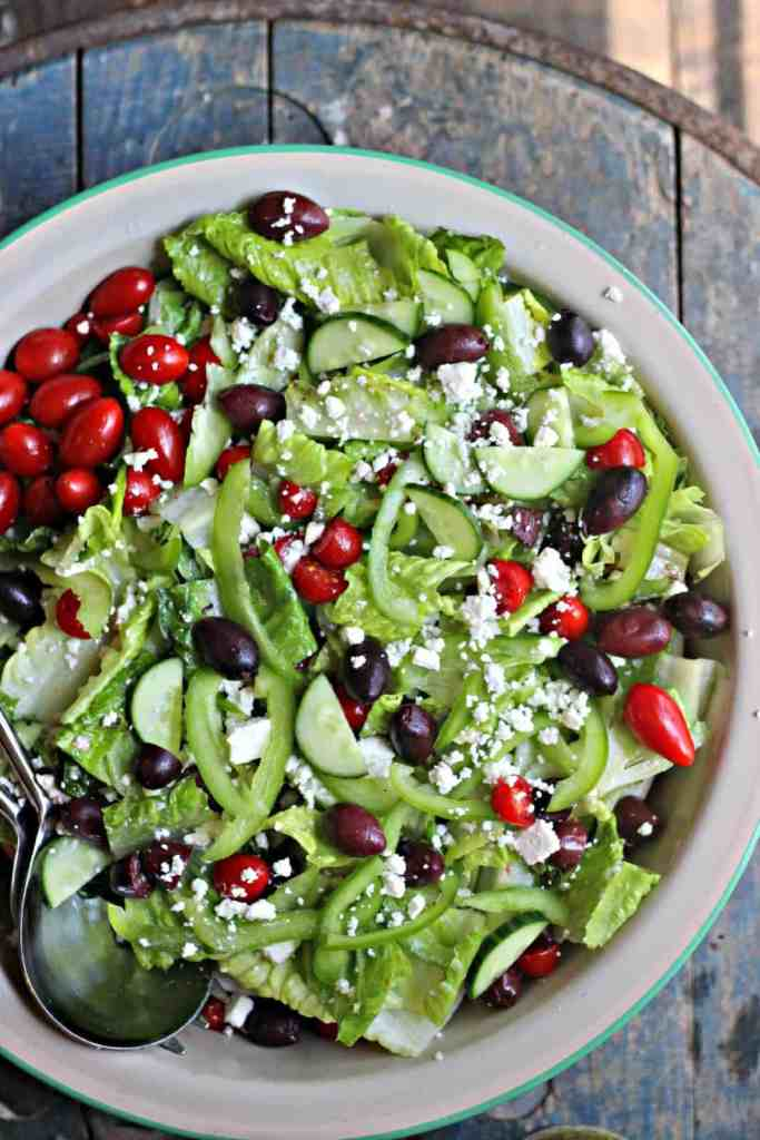 Greek Salad 7