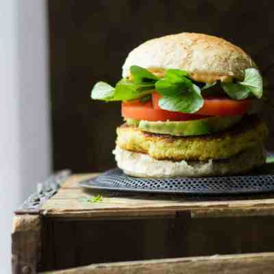Chickpea & Watercress Burgers