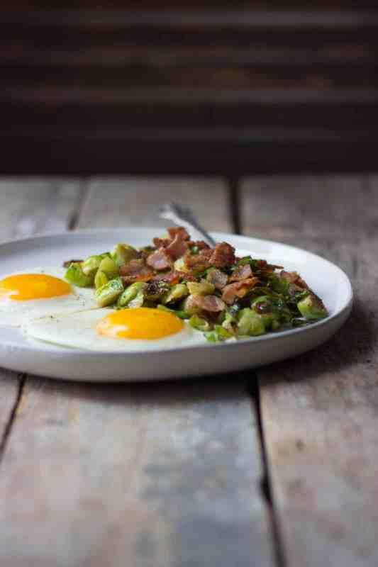 Breakfast Brussels Sprouts