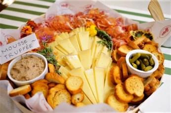 Cheese, Prosciutto & Pate
