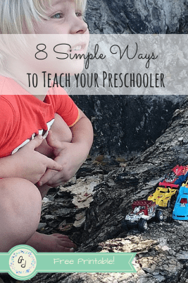 8 Simple Ways to Teach Your Preschooler