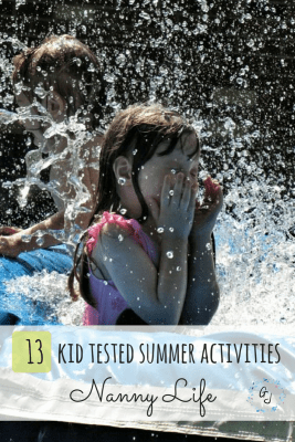 13 Summer Activities Tested by Kids