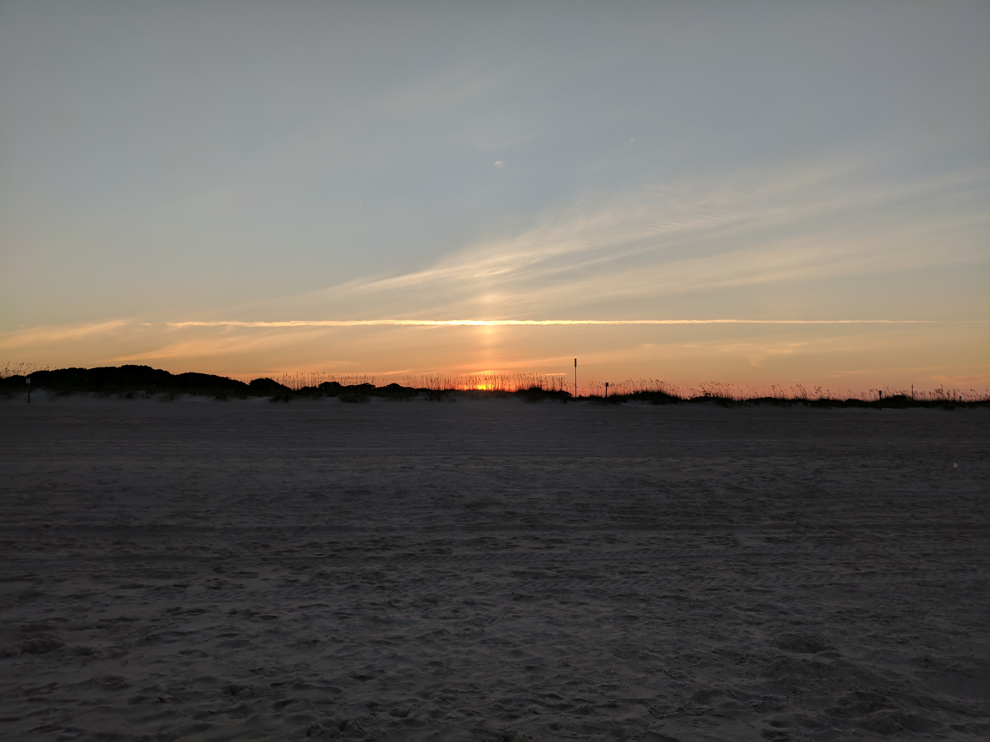 The Grand Seeley Adventure, family vacation, beach sunset