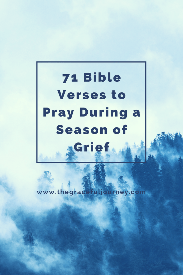 Bible Quotes About Peace 71 Bible Verses To Pray During A Season Of Grief  The Graceful