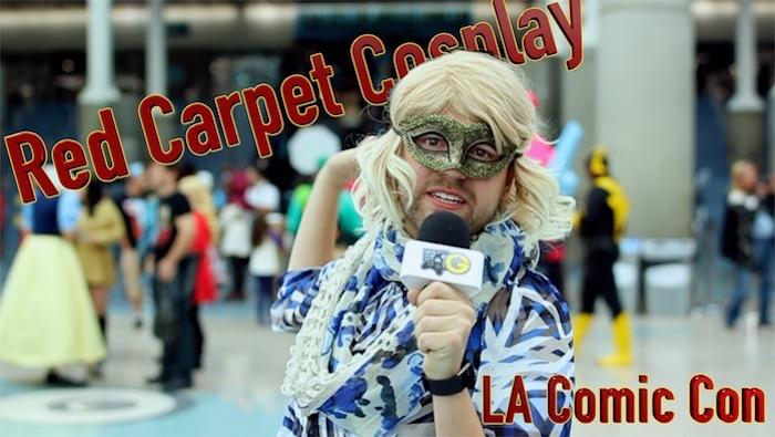 Red Carpet Cosplay at LA Comic Con 2017