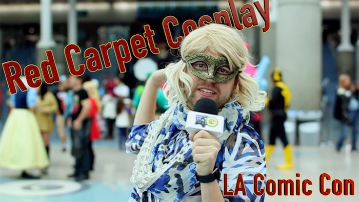 Red Carpet Cosplay at LA Comic Con 2017