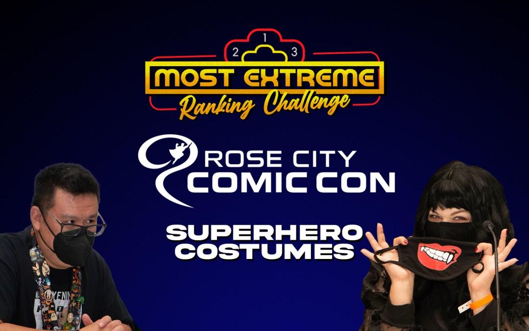 Ranking Superhero Costumes | MERC Rose City Comic Con 2021