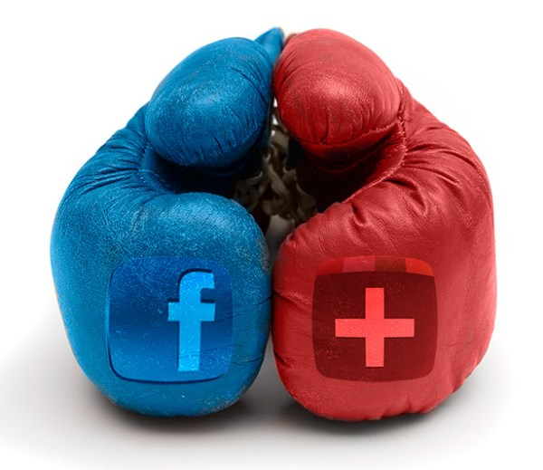 Facebook vs. Google+