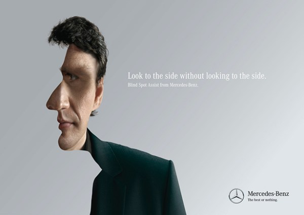 Mercedes-Benz print ads