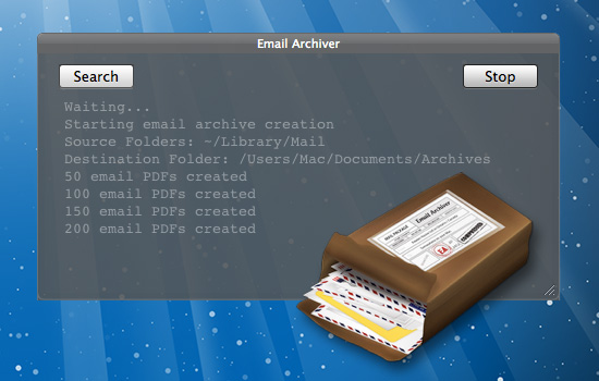 Email Archiver