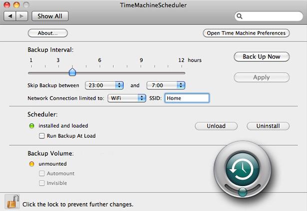 TimeMachineScheduler
