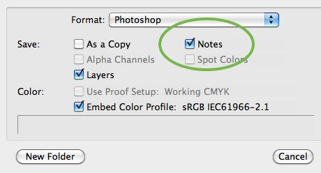 Photoshop Notes Prefs