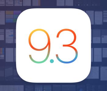 iOS 9.3 UI Kit download