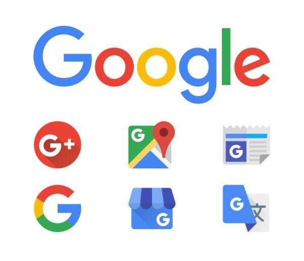 Google logo & icons