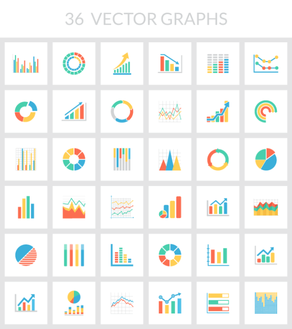 Free vector graphs pack