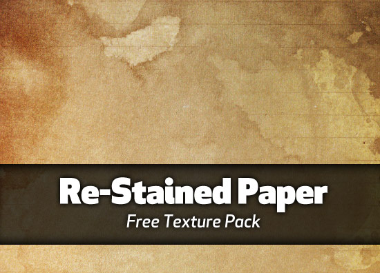 Re-Stained Paper textures