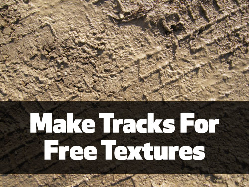 Free tire track textures