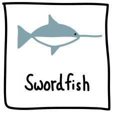 The Graphic Recorder - Visual Vocabulary - Ed Emberley Tribute - Swordfish