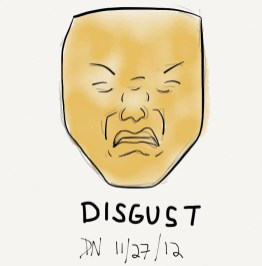 The Graphic Recorder - Doug Neill - Visual Vocabulary - Facial Expression - Disgust